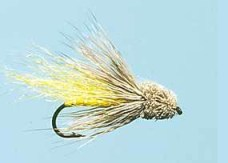 Yellow_Muddler_Fly - Un Matching the Hatch Techniques