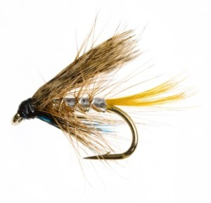 Silver Invicta Trout Fly