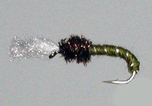 Best flies for brown trout - buzzer