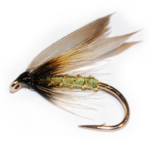 Best flies for brown trout - greenwells glory