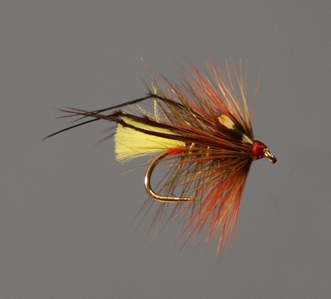 Olive George Trout Fly