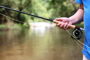 how to trout fish with a fly rod part two