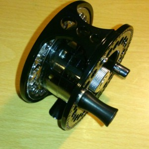 SK3 Sonik fly reel side profile