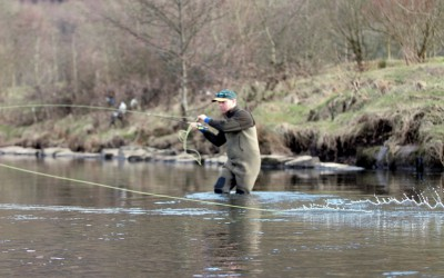 Double Spey Fly Casting