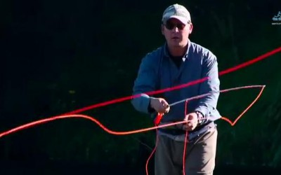 Mending Fly Line to Control Speed