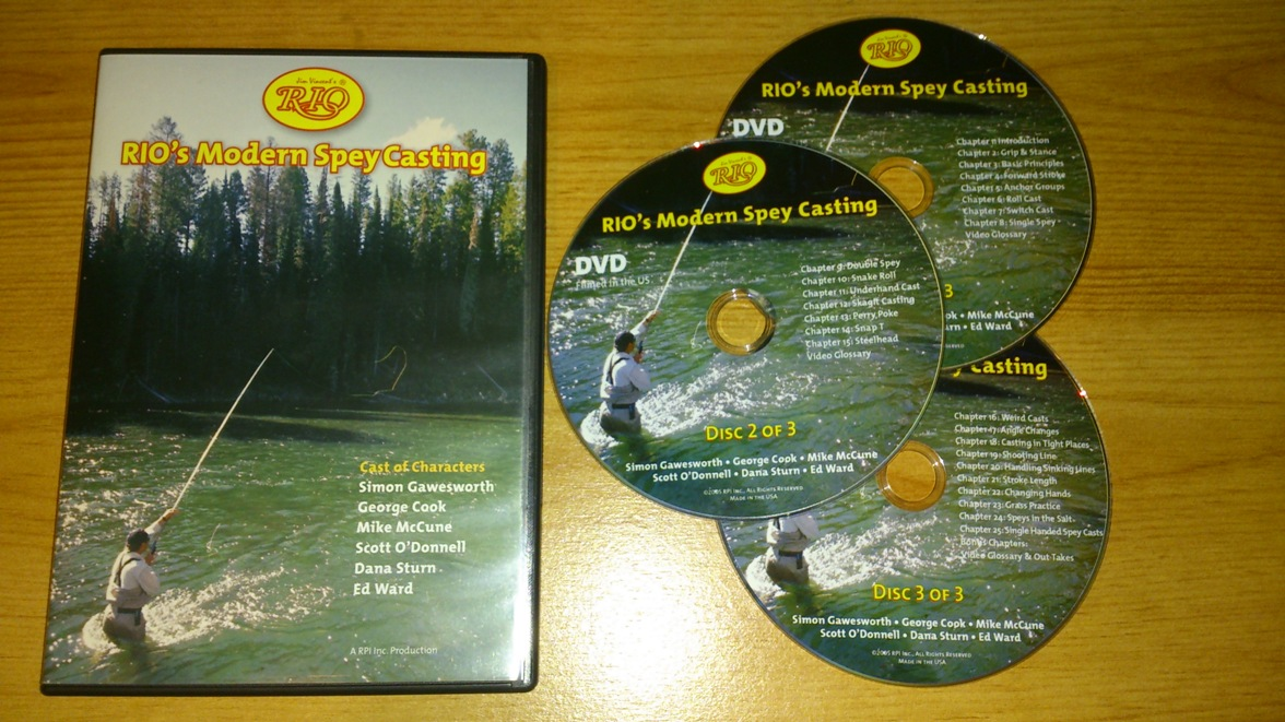 Rio modern spey casting DVD review