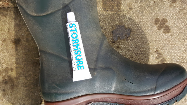 How To Fix Damaged Neoprene Wellington Boots