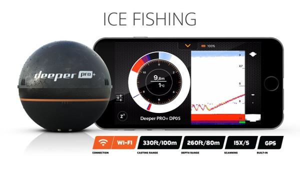 Deeper smart sonar pro fish finder review for Deeper pro plus fish finder