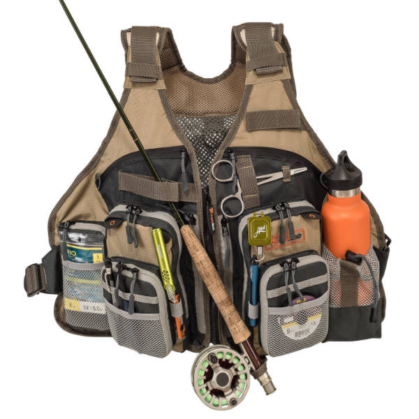 Adjustable Mesh Fly Fishing Vest by AnglaTech Review