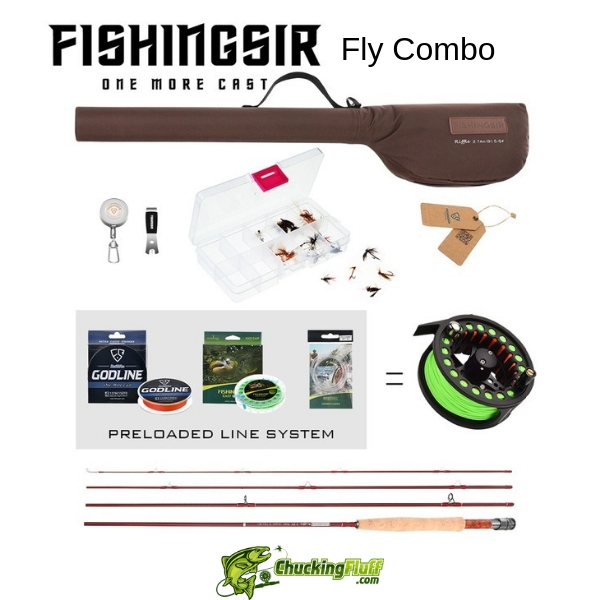 Fishingsir Fly Combo
