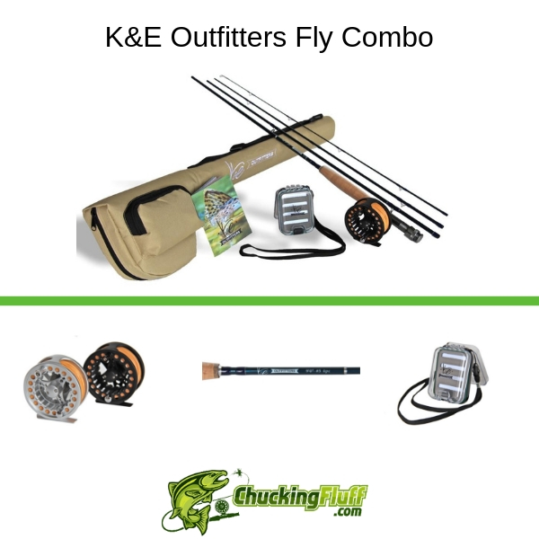 K&E Outfitters Fly Combo