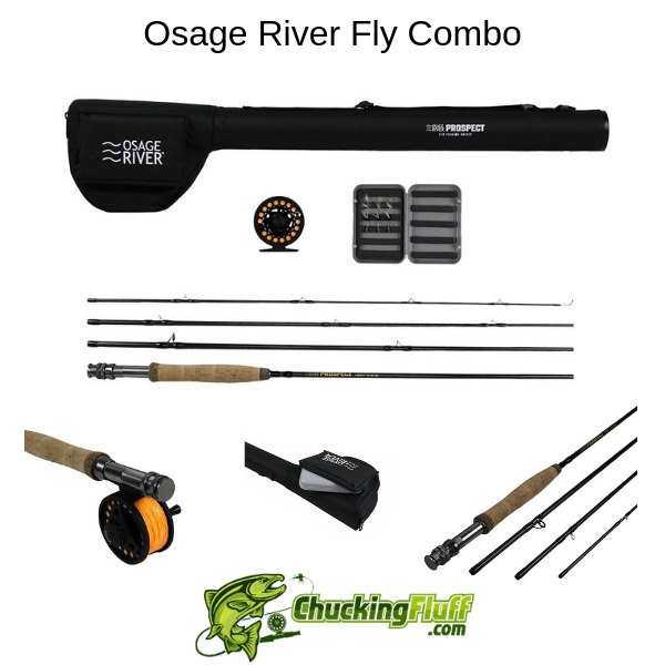 Osage River Fly Combo