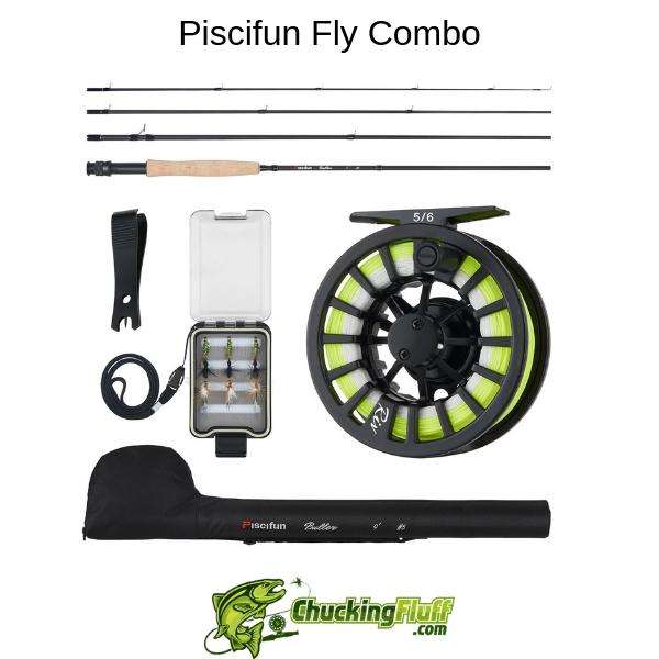 Piscifun Fly Combo