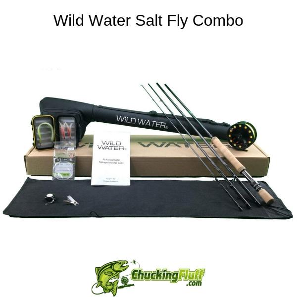 Wild Water Salt Fly Combo