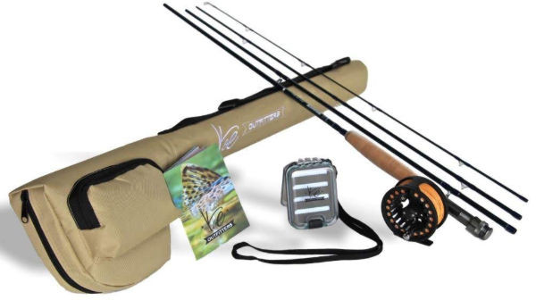 K and E Fly Fishing Combo Set