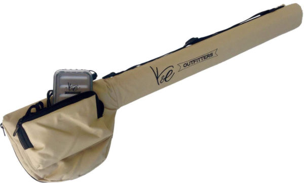 K and E Fly Fishing Combo Tube Full