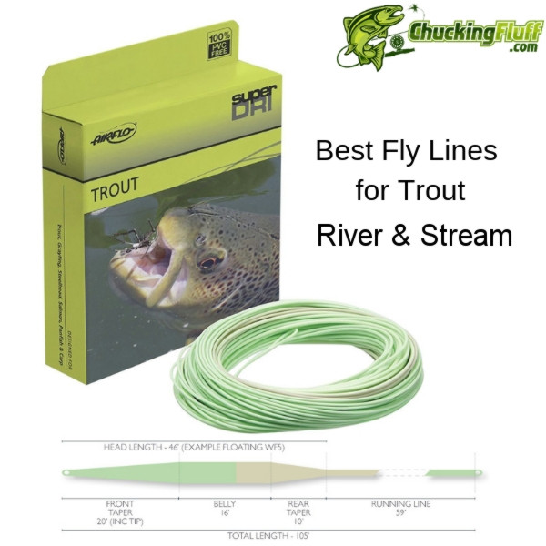 Airflo River and Stream Trout Fishing Fly Line