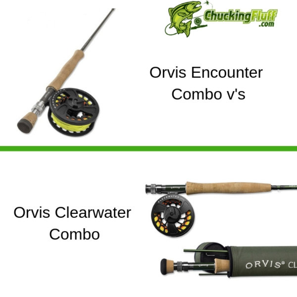 Orvis Clearwater Encounter Combo Comparison
