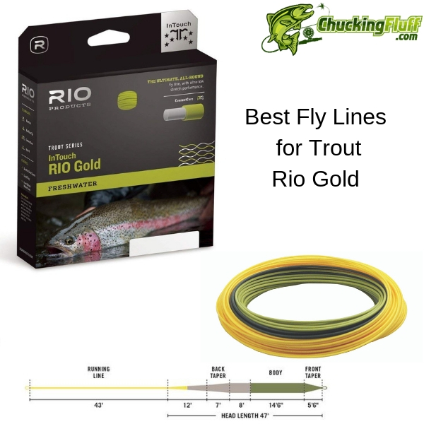Rio Gold Trout Fly Line