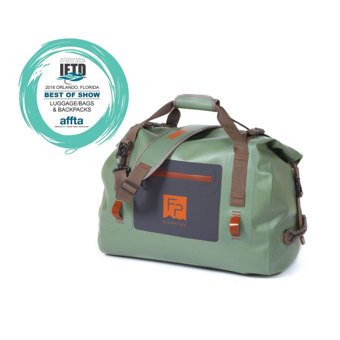 fishpond thunderhead rolltop duffle front