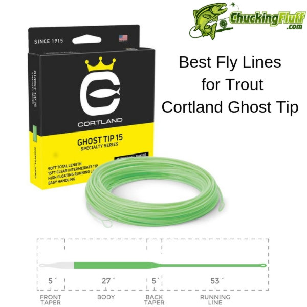 Cortland Ghost Tip Trout Fly Line