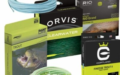 Fly Fishing Lines Explained – A Guide for the Beginner