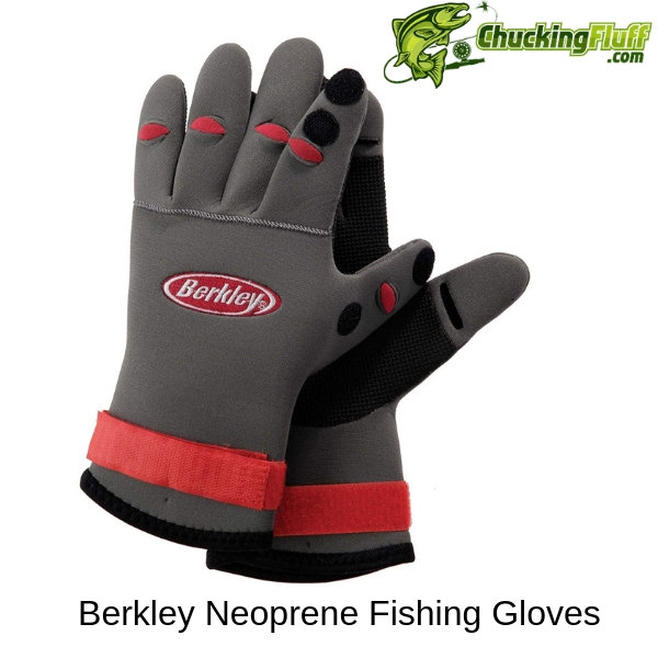 Berkley Neoprene Fly Fishing Gloves