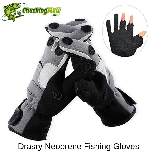 Drasry Neoprene Fishing Gloves