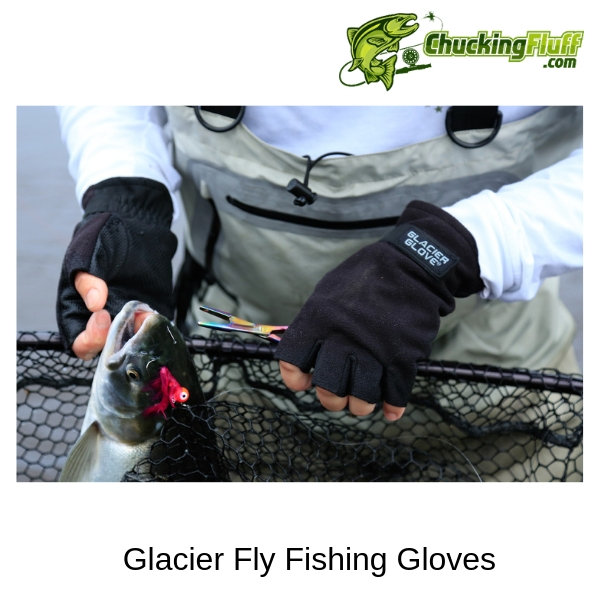 Glacier Fly Fishing Gloves Net