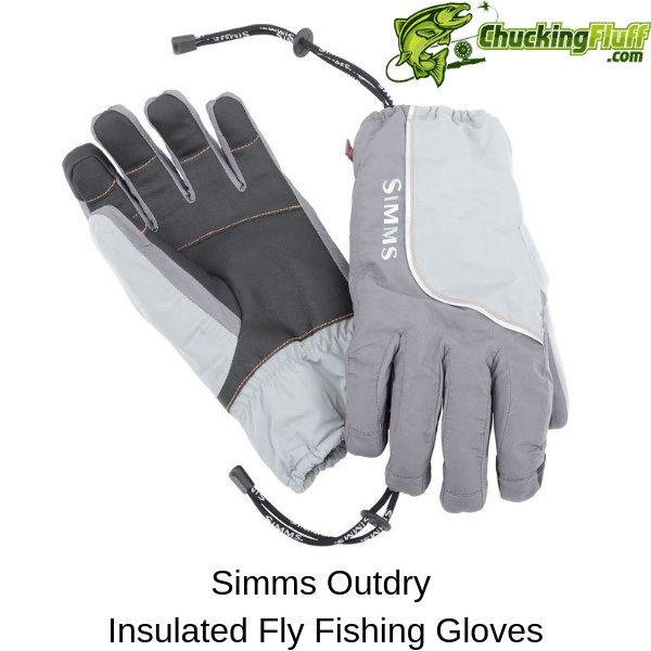 Simms Outdry Insulated Fly Fishing Gloves