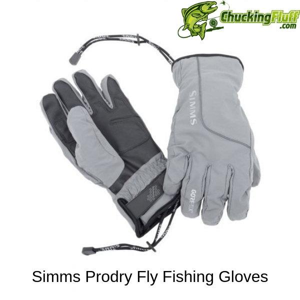 Simms Prodry Fly Fishing Gloves