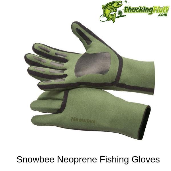 Snowbee Soft Neoprene Fly Fishing Gloves