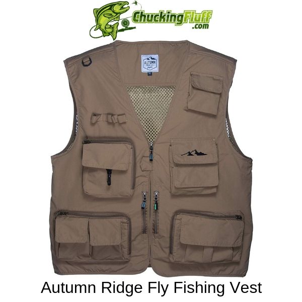Autumn Ridge Fly Fishing Vest