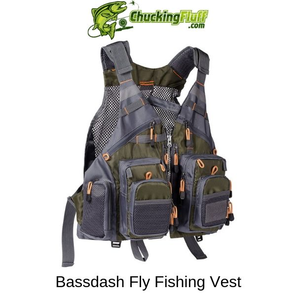 Bassdash Fly Fishing Vest