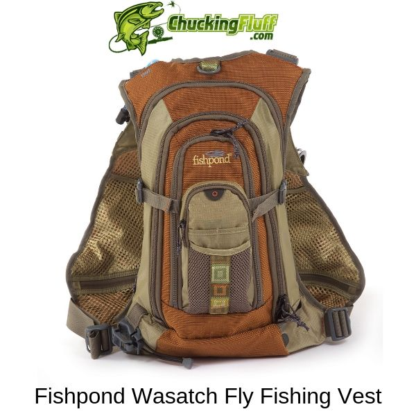 Fishpond Wasatch Fly Fishing Vest Back