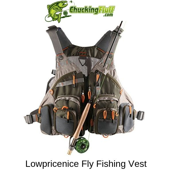 Lowpricenice Fly Fishing Vest