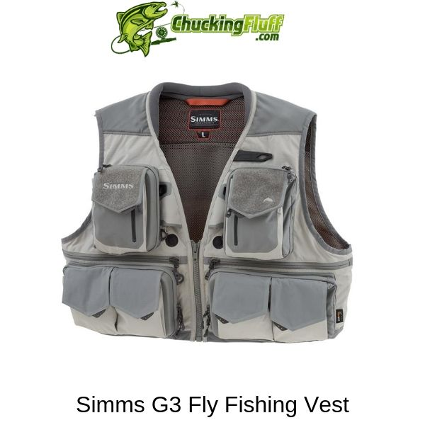 Simms G3 Fly Fishing Vest