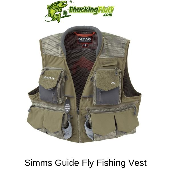 Simms Guide Fly Fishing Vest