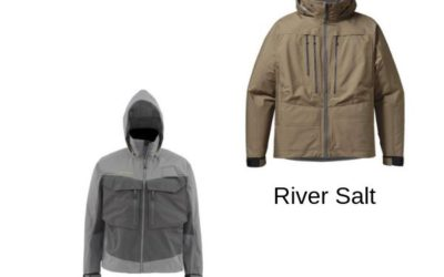 Simms G3 Guide vs Patagonia River Salt Wading Jacket Comparison Review