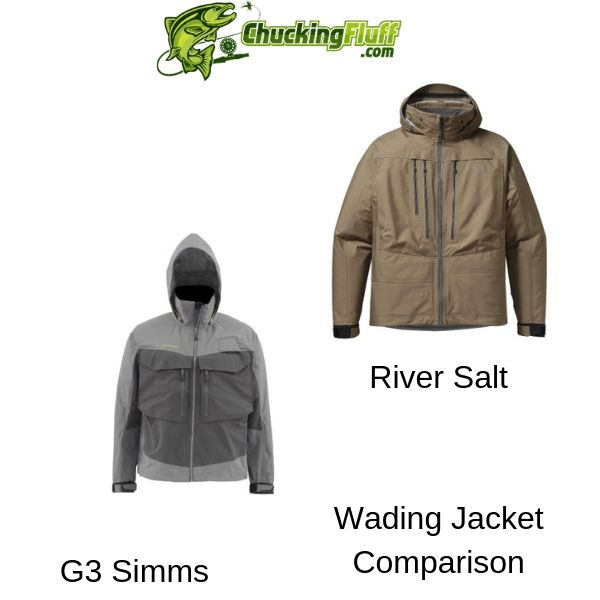 G3 Simms vs River Salt Wading Jacket