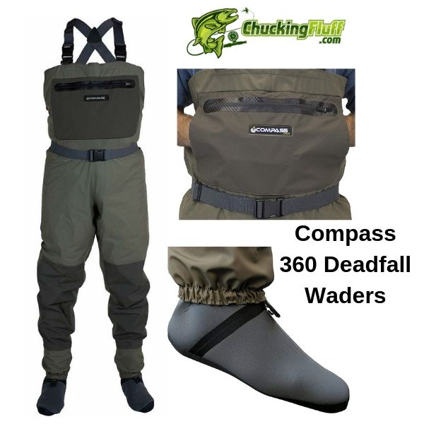 Compass Deadfall Stockingfoot Waders