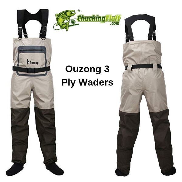 Ouzong 3 Ply Stockingfoot Waders