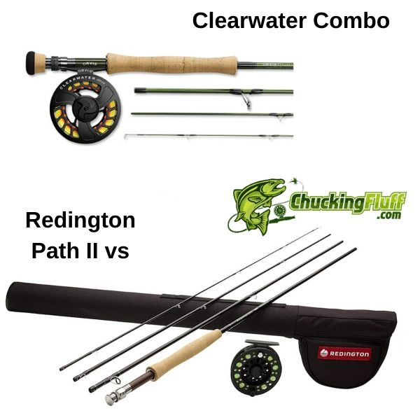 Clearwater vs Redington Path II Combo