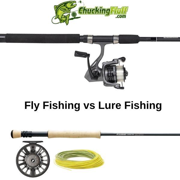 Fly Fishing vs Lure Fishing