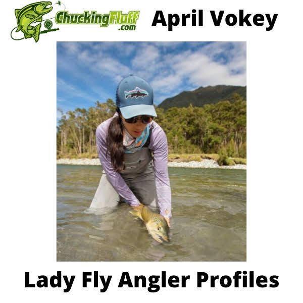 Lady Fly Angler Profiles - April Vokey
