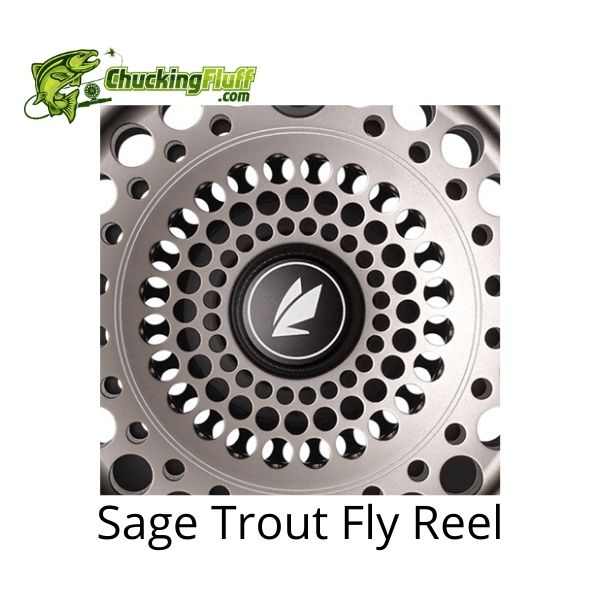 Sage Trout Fly Reel Badge