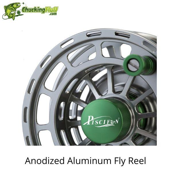 Piscifun Platte Anodized Fly Fishing Reel