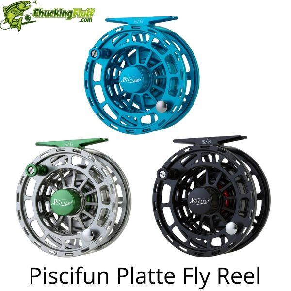 Piscifun Platte Fly Fishing Reel