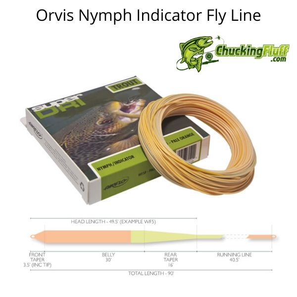Orvis Nymph Indicator Fly Line