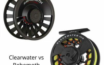 Orvis Clearwater vs Redington Behemoth Fly Reel Comparison
